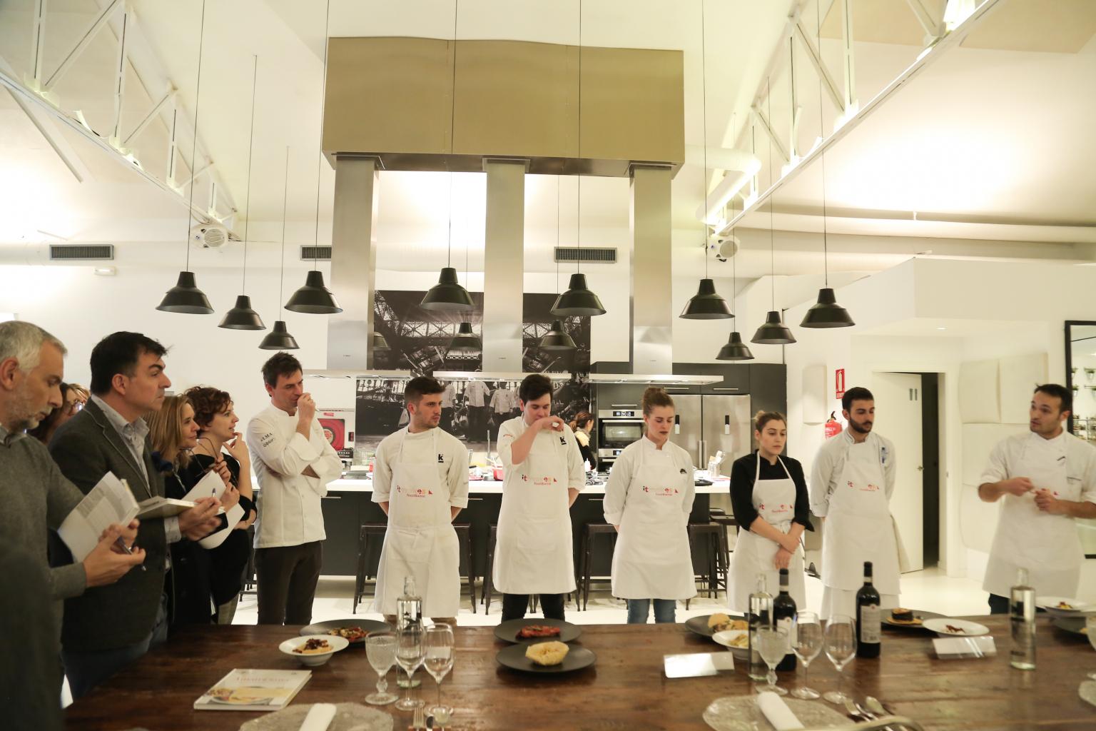 Final Concurso Prepara tu futuro-Jóvenes talentos de la cocina italiana